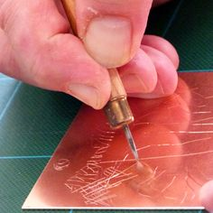 Dry point is the most direct form of intaglio. The artist simply takes a sharp point and uses it to scratch into the metal plate to create . Kids Printmaking, Intaglio Printmaking, Collagraph, Drypoint Etching, Etching Prints, Jr Art, Linocut Prints, Gravure, Portrait Art
