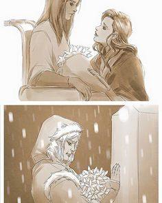Oh god no why this such happiness and sadness at the same time<<<asami gives korra flowers and korra give asami flowers