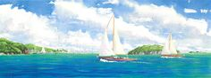 Classics by Anne Miller, x watercolour print Watercolor Print, Watercolours, Sailing Ships, Caribbean, Boats, Sea, Gallery, Classic, Painting