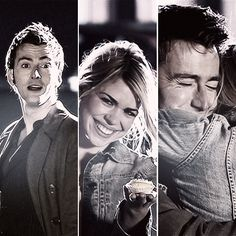 The Doctor + Rose Tyler // sometimes I wish someone would look at me like that...good grief.