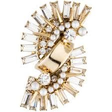 Image result for pearl cluster ear cuff