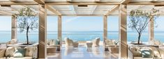 Ikos Oceania the luxury All-Inclusive hotel in Halkidiki Greece Top All Inclusive Resorts, Beach Resorts, Kids Resorts, Luxury Resorts, Thessaloniki, Bungalows, Patagonia Hotel, Golden Temple, Luxury Family Holidays