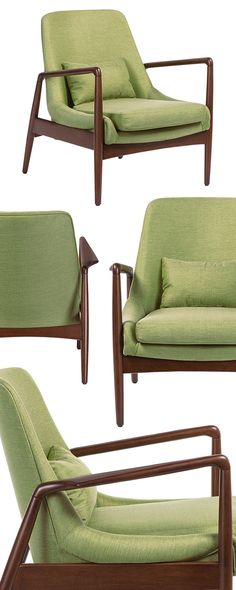 Need a nudge to send you toward a cool mid-century modern décor theme? This should do it. The Seamus Retro Accent Chair captures everything we loved about the 1960s and its low-profile, high-fashion in... Find the Seamus Retro Accent Chair, as seen in the Lounge Chairs Collection at http://dotandbo.com/category/furniture/chairs/lounge-chairs?utm_source=pinterest&utm_medium=organic&db_sku=127007
