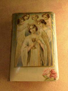 Vintage Celluloid child's prayer book catholic by vintagesparkles, $125.00