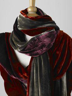 Vintage Velvet Scarves