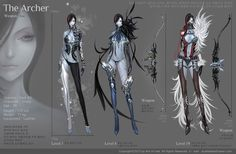 ArtStation - Costume, Mihee Kim