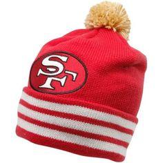 Toddler San Francisco 49ers Scarlet Tassel Knit Hat With Pom