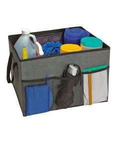 Take a look at this Gray Utility Trunk Organizer today!