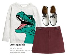 """""""Untitled #2729"""" by momoheart ❤ liked on Polyvore featuring Dr. Martens and Marc by Marc Jacobs"""