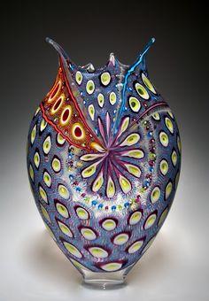 'Foglio' Handblown Art-Glass by  David Patchen ♥≻★≺♥
