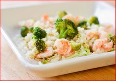Shrimp and Broccoli Rice - Amazing Health Recipes  https://www.facebook.com/AmazingHealthRecipes
