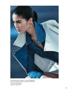 Urban Denim Chic (Vogue China)