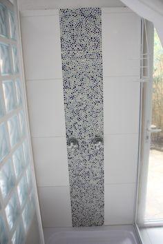 mozaiek als vloertegel badkamer - Google zoeken | badkamer ...