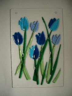 25+ unique Fused glass art ideas