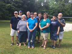 Volunteer group from New Beginnings Church that hosted a cookout for CYDC youth on May 30, 2015.
