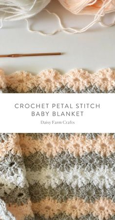 Learn the Tunisian Crochet Smock Stitch - Crochet Ideas Free Baby Blanket Patterns, Crochet Blanket Patterns, Baby Blanket Crochet, Baby Patterns, Crochet Stitches, Crochet Hooks, Crochet Baby, Crocheted Blankets, Crochet Afgans