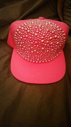 Ladies snapback crusted hats