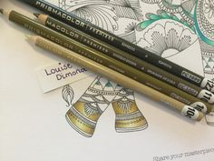 Blending Colored Pencils, Types Of Pencils, Color Blending, Colouring Pages, Adult Coloring Pages, Coloring Books, Secret Garden Book, Colored Pencil Tutorial, Colouring Techniques
