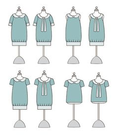 Adelaide Blouse & Dress Pattern by Violette Field Threads