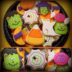 Cute, cute Halloween cookies.