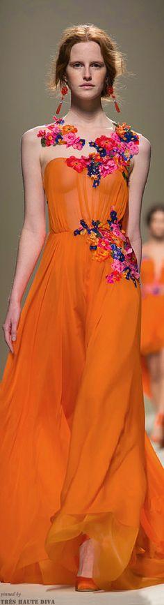 #Milan FW Alberta Ferretti Spring/Summer 2014 RTW  Repinned by www.fashion.net