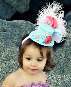 Mini Top Hat Alice in Wonderland Inspired by LittleLadyAccessory, $28.00
