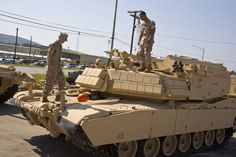 USMC Combat Engineers with their new M1 ABV.