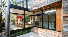 Green Custom Home Ottawa Zen Barn - Christopher Simmonds Architect