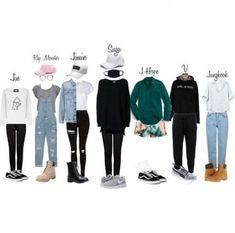 64 Trendy Fashion Korean Kpop Hats fashion is part of Kpop fashion outfits - Legging Outfits, Black Leggings Outfit, Pants Outfit, Black Pants, Grey Outfit, Black Belt, Bts Mode, Kpop Mode, Kpop Fashion Outfits