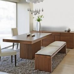 Modern Kitchen Table Bench Seating