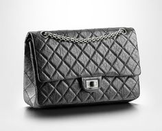 Chanel Limited 50th Anniversary Edition Grey 2.55 Reissue Quilted Classic Leather