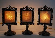 Lithophane Lamps