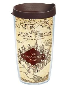 Harry Potter - The Marauder's Map - Wrap with Lid | 16oz Tumbler | Tervis