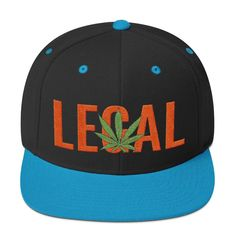 This hat is structured with a classic fit, flat brim, and full buckram. The adjustable snap closure makes it a comfortable, one-size-fits-most hat. Snapback Hats, Ted, Wool, Orange, Snapback