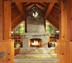 Inglenook Fireplace Designs . . . Cozy Nooks And Crannies!