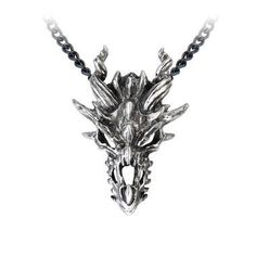 Keep the soul of a primative ferocity unleased close to your soul. Fine English pewter Chain length: 21 inch Approximate pendant size: 1.6 inch width, 2.2 inch height, 0.6 inch depth