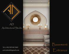 Entrance for Basement Basement Entrance, Modern Villa Design, Autodesk 3ds Max, Behance, Spirit, Interior Design, Creative, Nest Design, Home Interior Design
