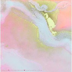Abstract Art : Marta Spendowska http://verymarta.com  #abstractart #watercolor