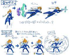 Gameplay inspiration from Keiji Inafune's new game Gunvolt. #Gunvolt #Concept