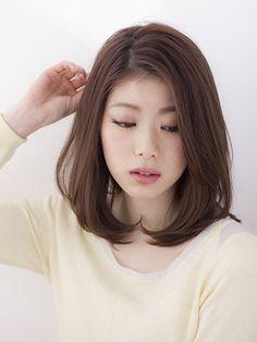 まとまるけどふんわり見せたい!! | 青山・表参道の美容室 HAIR DIMENSION 表参道のヘアスタイル | Rasysa(らしさ)