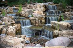 Pond-Less Waterfalls ***Repinned by Normoe, the Backyard Guy (#1 backyardguy on…