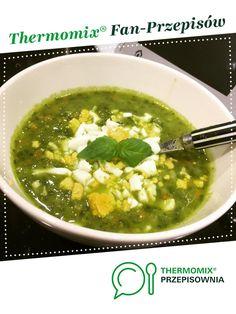 Lekka zupa ziemniaczano-szpinakowa (rozszerzanie diety / BLW ) jest to przepis stworzony przez użytkownika Dziewczyna Informatyka. Ten przepis na Thermomix<sup>®</sup> znajdziesz w kategorii Przepisy dla najmłodszych na www.przepisownia.pl, społeczności Thermomix<sup>®</sup>. Palak Paneer, Food Heaven, Ethnic Recipes, Soups, Dinners, Kitchen, Thermomix, Dinner Parties, Cooking