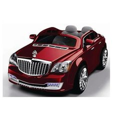 maybach style 12v electric kids ride on car with remote red maisies toys
