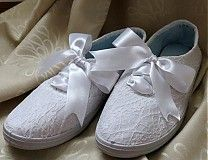 Svadba - Čipkované topánočky - 2424909 Sneakers, Wedding, Shoes, Fashion, Tennis Sneakers, Casamento, Sneaker, Zapatos, Moda