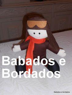 Babados & Bordados: Festa do Menino Aviador