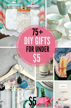 75+ DIY Gift Ideas
