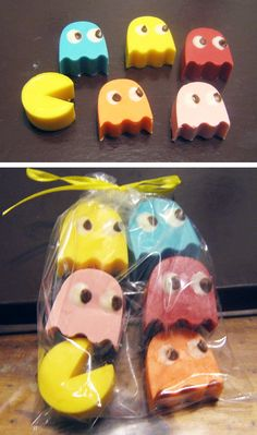 Pac-Man Chocolates