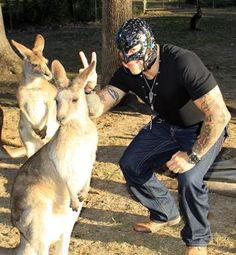 Rey Mysterio, #WWE This is a cute picture!