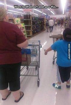 Went to Walmart