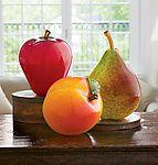 Larger Than Life Apples: Michael Cohn, Molly Stone: Art Glass Sculpture | Artful Home